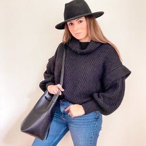 NWT Oversized Cable Knit Sweater